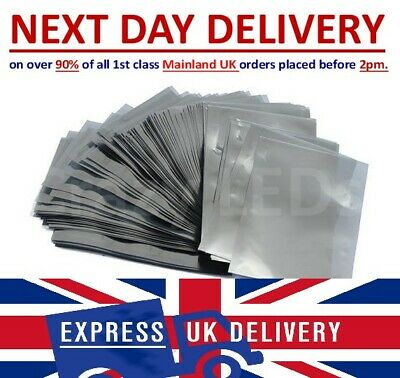 £5.76 • Buy Anti Static Bags ESD Metallic Shielding Multi-listing Various Size Large Small.