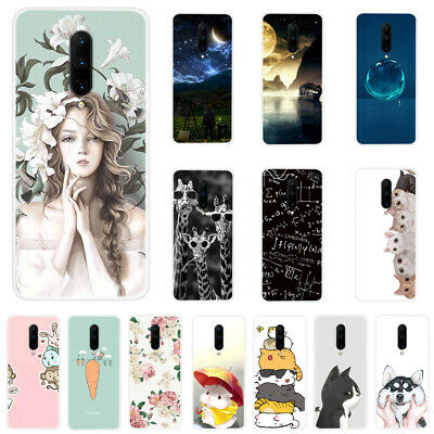 $ CDN4.51 • Buy For OnePlus 7 Pro 7 6T 6 Slim Clear Painted Soft Silicone TPU Phone Case Cover