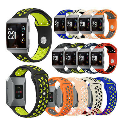 $ CDN10.75 • Buy Silicone Sport Bracelet Watch Strap Watchband For Fitbit Ionic Replacement Band