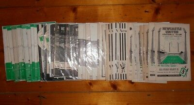 1960's NEWCASTLE UNITED HOME PROGRAMMES - Your Choice - FREE Postage • 2.25£
