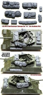 $17 • Buy 1/35 Scale M10 Tank Destroyer Stowage Version-AC1 (For Academy Kit) ValueGear