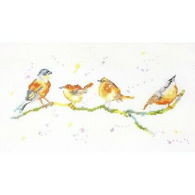 £15.16 • Buy My Cross Stitch - By Charlotte Rennie - Birds Of A Feather - Counted Cross Stitc