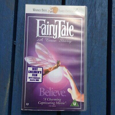 Fairytale A True Story Vhs Video Tape • 3£
