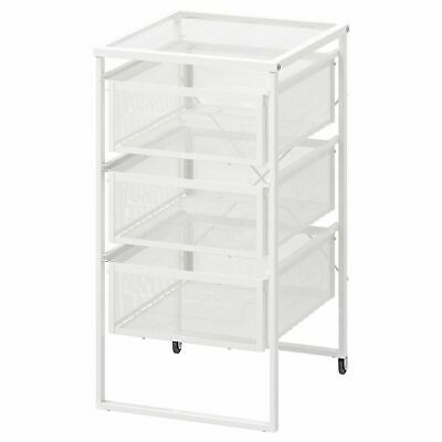 £21.49 • Buy IKEA Lennart 3 Drawers Storage Unit Castors Home Office Shop Use Hold A4 Paper