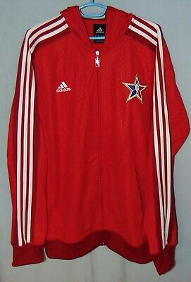 $ CDN100 • Buy Red Adidas Zip Up Hoodie. Mens Large. 2010 Basketball Tournament Sweater. Mint!