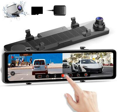 AU49.05 • Buy AZDOME 4.3'' Dual Lens Car Dash Cam Recorder Touching Front And Rear Car Camera