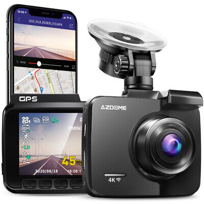 AU89.85 • Buy AZDOME GS63H 4K Car Dash Cam Car DVR Camera WIFI GPS Video Recorder