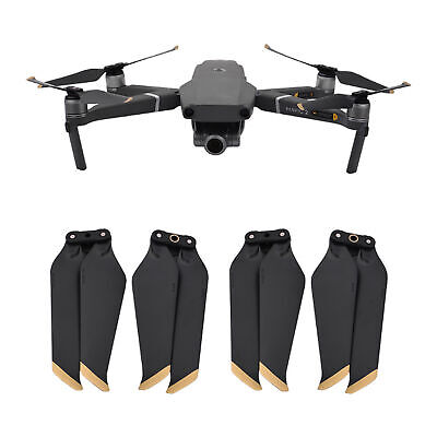 AU5.94 • Buy 2 Pairs For DJI Drone Mavic Pro PLATINUM Propeller 8331/8743F Low Noise ATF