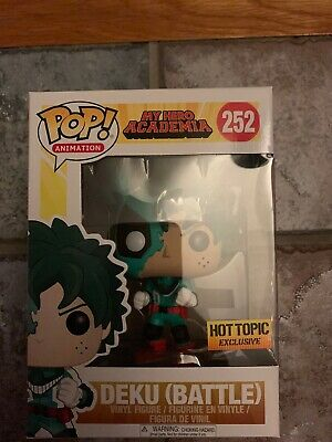 $15 • Buy Funko Pop! My Hero Academia - Deku (Battle) - Hot Topic Exclusive