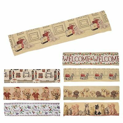 Draught Excluder Gorgeous New Tapestry Style Door Window Draft Excluder Cushion • 10£
