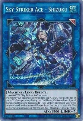 $ CDN6.61 • Buy *** Sky Striker  Ace - Shizuku *** Prismatic Secret Rare Mp19-en258 Yugioh!