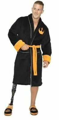Star Wars Mens Bathrobe - Adult Fleece Dressing Gown - Join The Resistance Gift • 29.99£