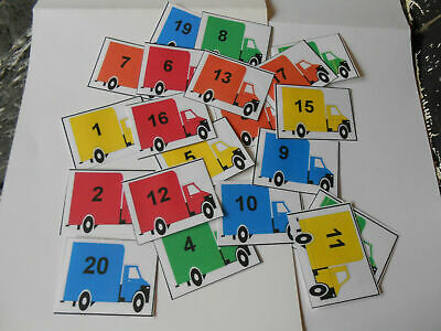 1-20 Lorries Counting Game (autism,special Needs)  • 3.50£