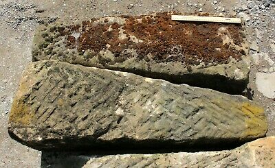 Reclaimed Stone Post Circle Garden Feature Edging Posts Staddle • 120£