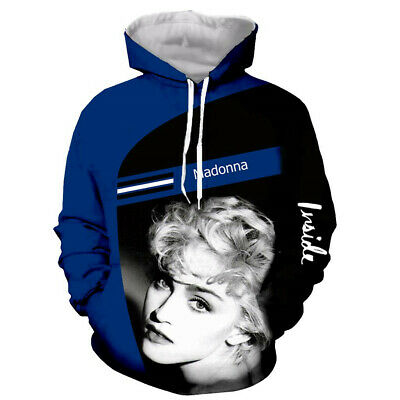$ CDN22.58 • Buy Popular Star Madonna 3D Print Hoodie Men Women Casual Sweatshirt Pullover Tops