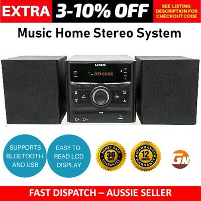 AU114 • Buy Home Stereo CD Player Micro HiFi System Bluetooth Speakers - Home Stereo Systems