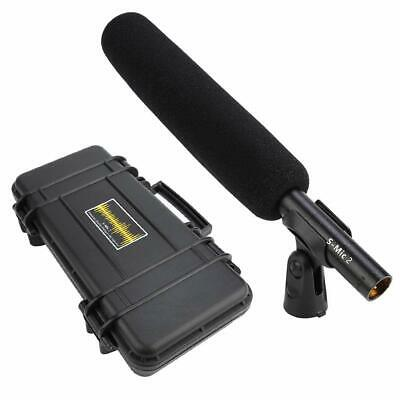 DEITY S-Mic 2 Broadcast Shotgun Microphone Super Low Noise Anti-shake Mount New • 265.05£