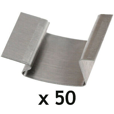 Greenhouse G Clips Stainless Steel Glass Glazing Window Sprung Clips X 50 • 12.59£