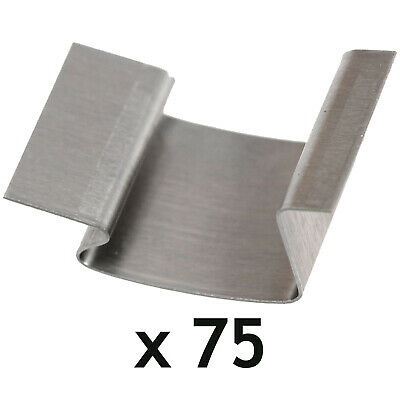 Greenhouse G Clips Stainless Steel Glass Glazing Window Sprung Clips X 75 • 16.89£