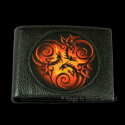 Age Of Dragons Mens Wallet, Tribal Dragon Design • 18.99£