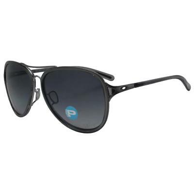 AU129.99 • Buy Oakley OO 4102-13 Polarized Kickback Black Ice Onyx W Grey Gradient Sunglasses