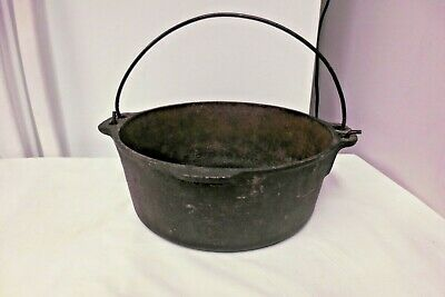 $ CDN38.05 • Buy Wagner USA Cast Iron 5 Qt Roaster Oval Dutch Oven-Kettle, Pot