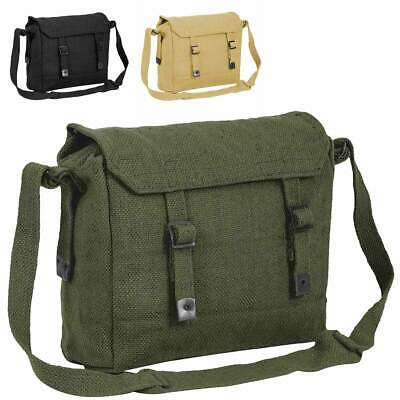 MILITARY MESSENGER BAG Heavy duty Royal Air Force cotton canvas Army haversack