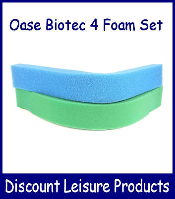 Compatible Oase Biotec 4 Replacement Foam Filter Set • 18.95£
