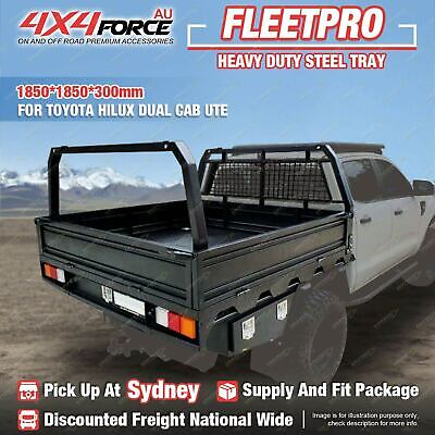 AU3500 • Buy 4X4FORCE Heavy Duty Steel Tray 1850x1850x300mm For Toyota Hilux Dual Cab Ute