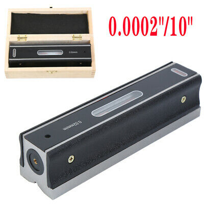 $60.66 • Buy 8  Master Precision Level In Fitted Box For Machinist Tool 0.0002''/10''