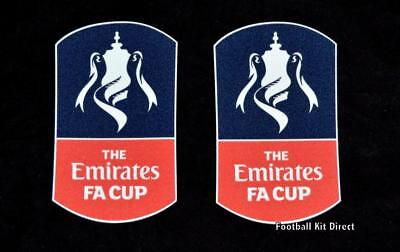 Official FA Cup Football Shirt Badge/patch Cup 2016/17/18 Sporting ID • 13.33$