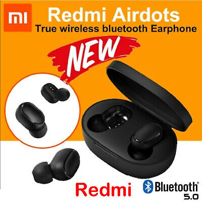 $13.26 • Buy Original NEW XIAOMI Redmi AIRDOTS WIRELESS EARPHONE W/ CHARGER BOX Bluetooth 5.0