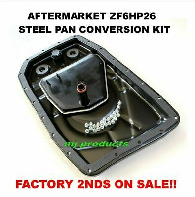AU120 • Buy ZF6HP26 Transmission Steel / Metal Sump / Factory 2nd Pan Conversion Kit