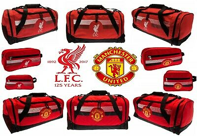 Liverpool Manchester United Bag Ultra School Gym Duffel Wash Bags Selection Gift • 29.99£