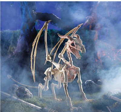 $49.99 • Buy Halloween Decorations Original Dragon Life-Size Skeleton Halloween Outdoor Decor