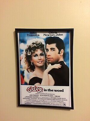 £12.99 • Buy Grease A4 260gsm Framed Poster Print