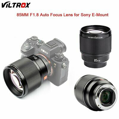 $ CDN521 • Buy Viltrox 85MM F1.8 Large Aperture AF Lens Full Frame For Sony E-Mount A9 A7R2 III
