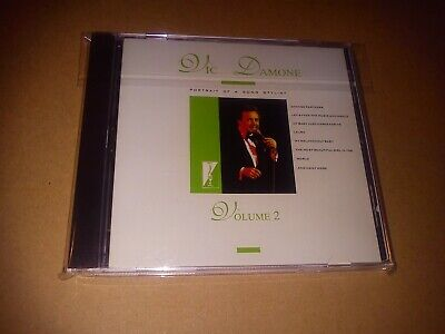 £6.99 • Buy Vic Damone, Portrait Of A Song Stylist Volume 2 CD New But NOT Sealed 14 Tracks