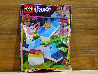 LEGO Friends Bunny Playground Seesaw & Slide. Small Bagged Set. No Instructions. • 6£