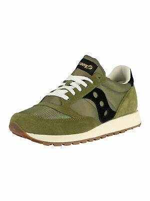 Saucony Men's Jazz Original Vintage Trainers, Green • 55.95£