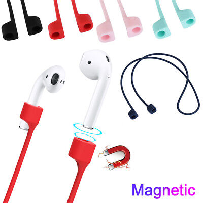 $ CDN2.48 • Buy Earphone Anti-lost Strap For Apple AirPods Strap Magnetic Loop String Rope Cable