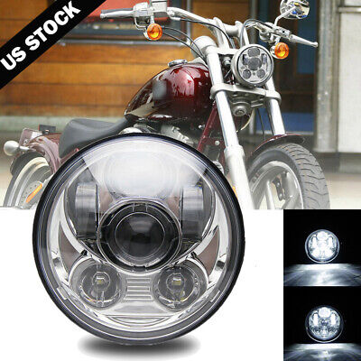 $29.99 • Buy 5.75 LED Headlight For Suzuki Intruder Volusia VS VL 700 800 1400 1500 Boulevard