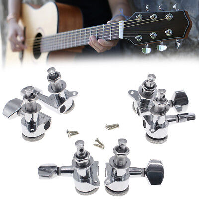 $12.80 • Buy 3L+3R Best Guitar Tuners Tuning Pegs Machine Heads For Electric Acoustic