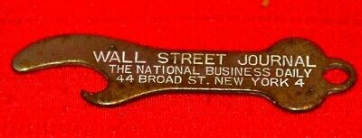 $7.95 • Buy Wall Street Journal The National Business Daily Bottle Or Beer Opener
