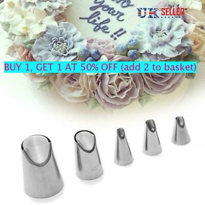 Pastry Cream Juju Tulip Stainless Steel Icing Piping  Tips Russian Nozzle • 4.65£
