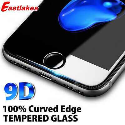 AU7.95 • Buy For Apple IPhone 8 7 Plus - 9D Full Cover Curved Tempered Glass Screen Protector