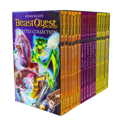 Beast Quest Series 4 , 5 & 6 - 18 Books Young Adult Collection PB By Adam Blade • 29.78£