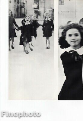 $114.23 • Buy 1946 Little Girls By Richard Avedon Children School Play Italy Vintage Photo Art