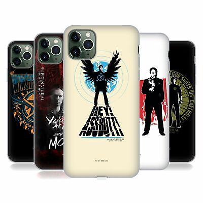 £14.95 • Buy OFFICIAL SUPERNATURAL GRAPHIC SOFT GEL CASE FOR APPLE IPHONE PHONES