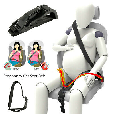$18.99 • Buy Pregnant Seat Belt Maternity Women Accessory Car Belt Adjuster Safety Moms Belly